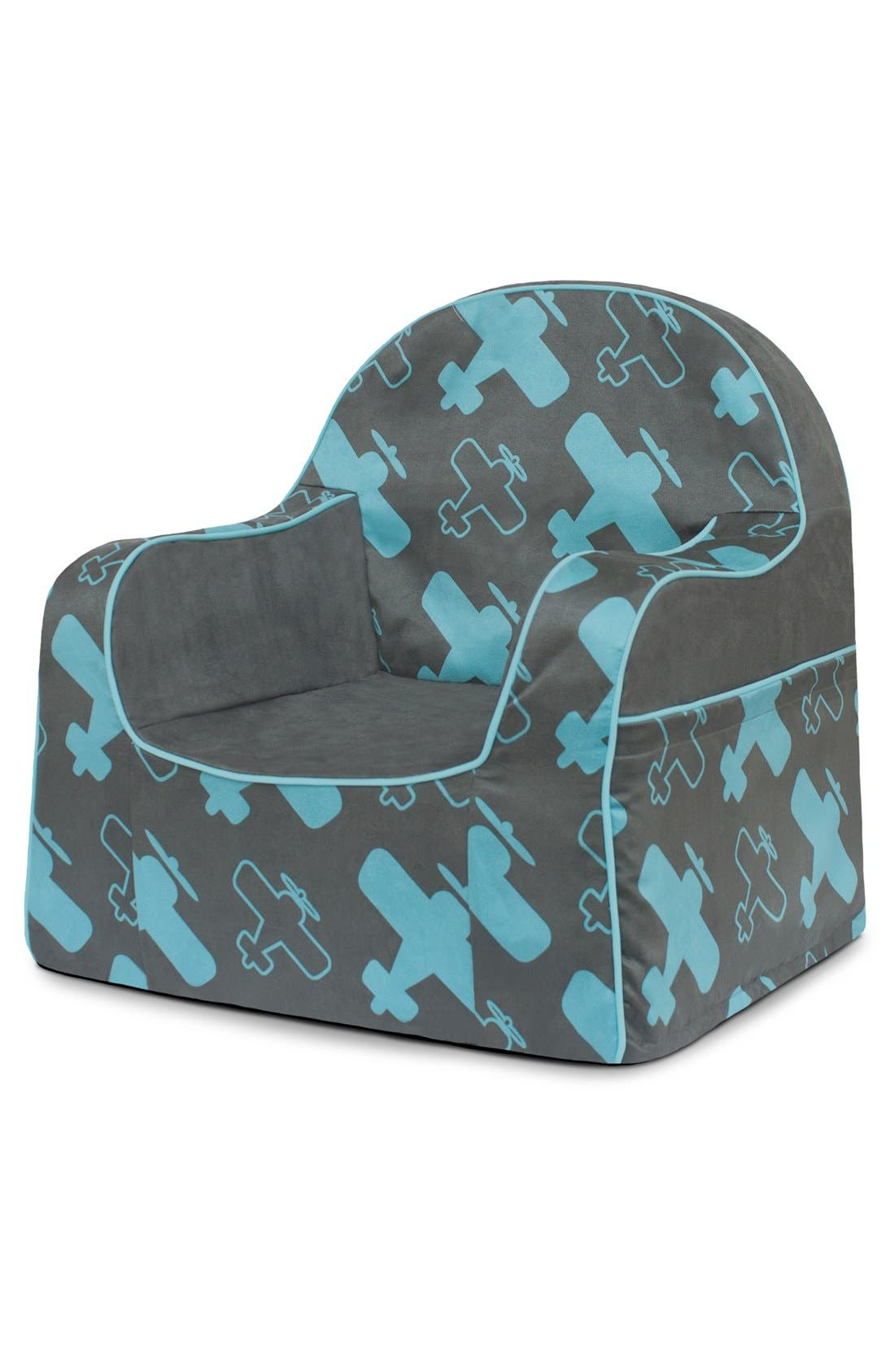 'Personalized Little Reader' Chair,                             Alternate thumbnail 3, color,                             Planes
