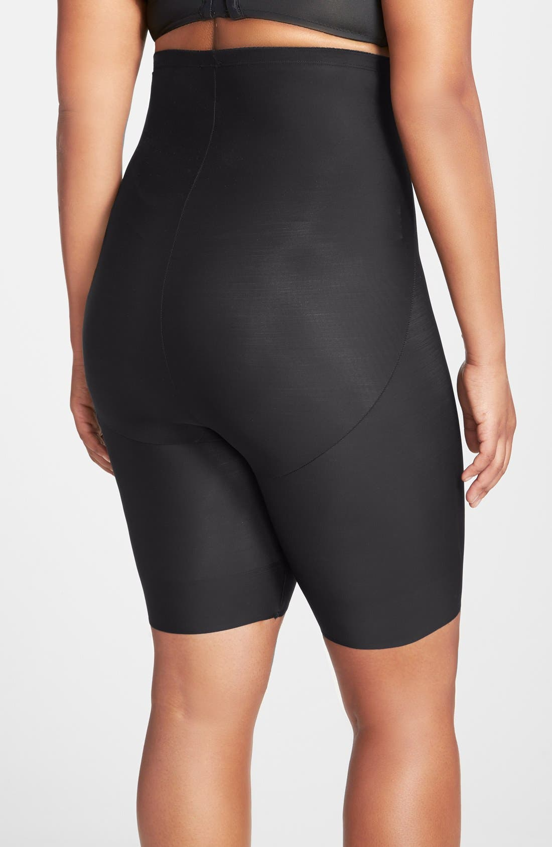 Alternate Image 2  - TC Shaping High Waist Thigh Slimmer (Plus Size) (Online Only)