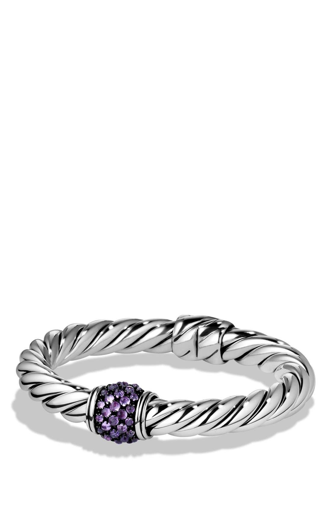 Alternate Image 1 Selected - David Yurman 'Osetra' Bracelet with Semiprecious Stone