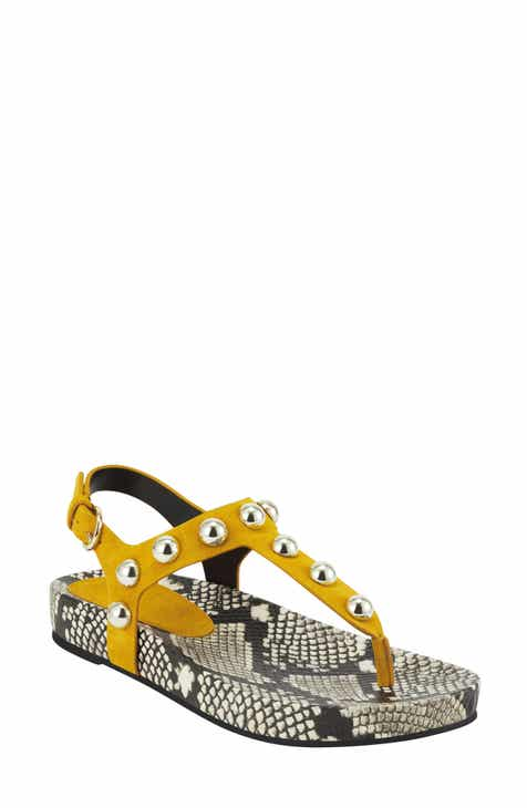 Marc Fisher LTD Indie Studded Sandal (Women)
