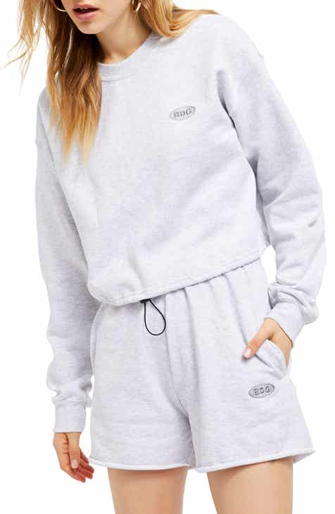 BDG Urban Outfitters Bubble Hem Sweat Top