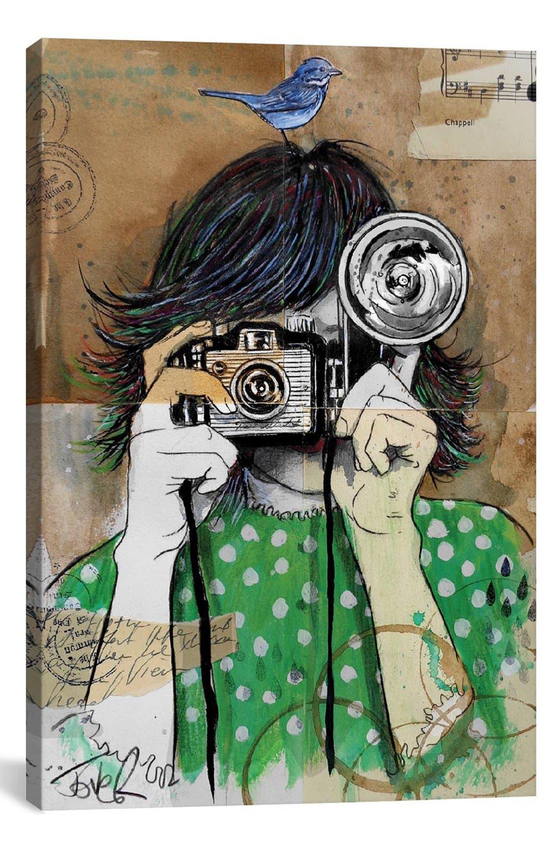 Alternate Image 1 Selected - iCanvas 'Little Moments' Giclée Print Canvas Art