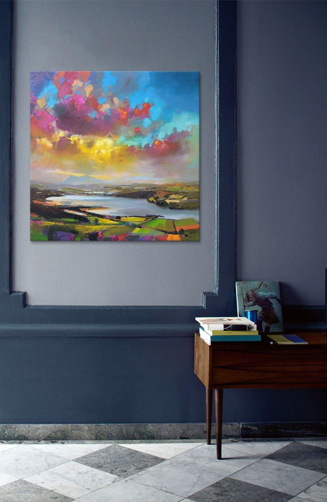 'Struie Dornoch' Giclée Print Canvas Art,                             Alternate thumbnail 2, color,                             Blue