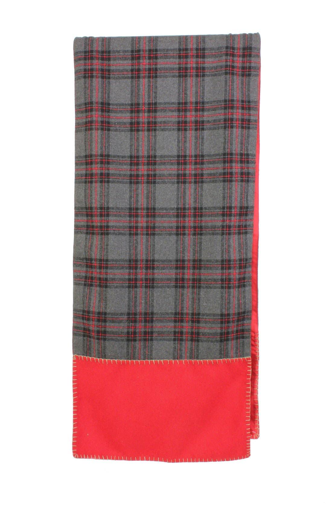 Alternate Image 1 Selected - Sage & Co. Plaid Wool Table Runner