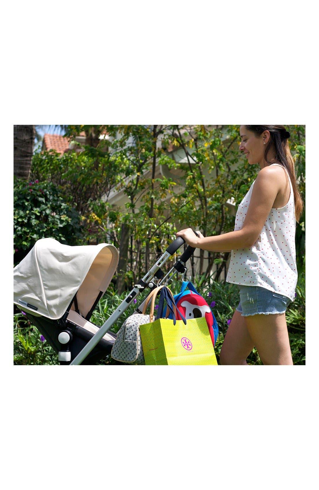 Alternate Image 6  - Buggygear 'Boutique' Stroller Hooks (Set of 2)