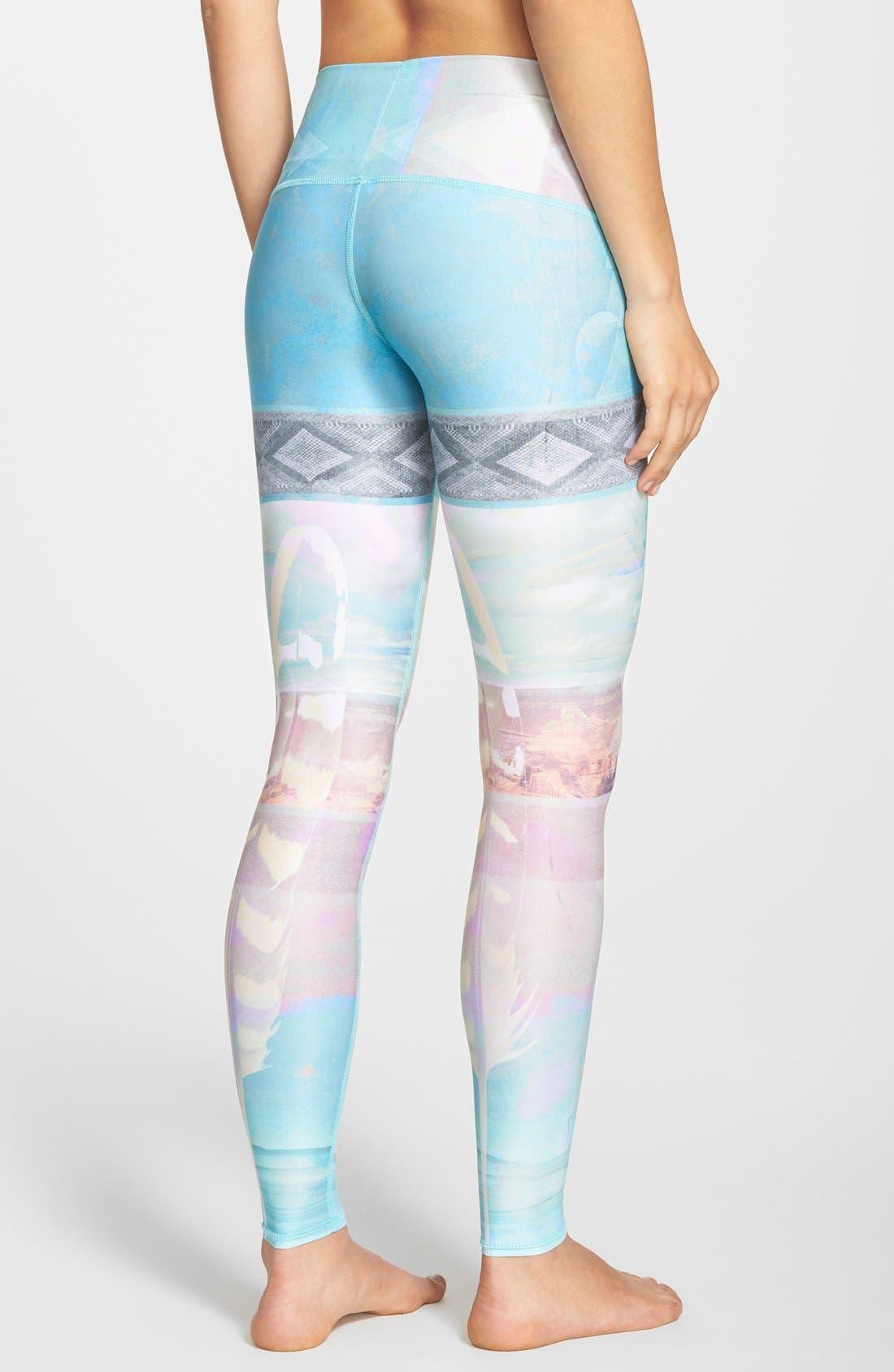 Alternate Image 2  - teeki 'Tarot Magick Hot Pant' Leggings