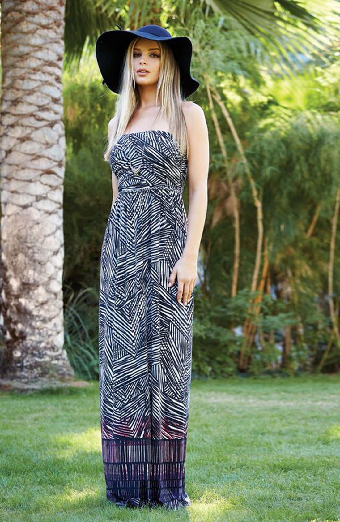 Alternate Image 4  - Tart 'Delancy' Print Jersey Maxi Dress