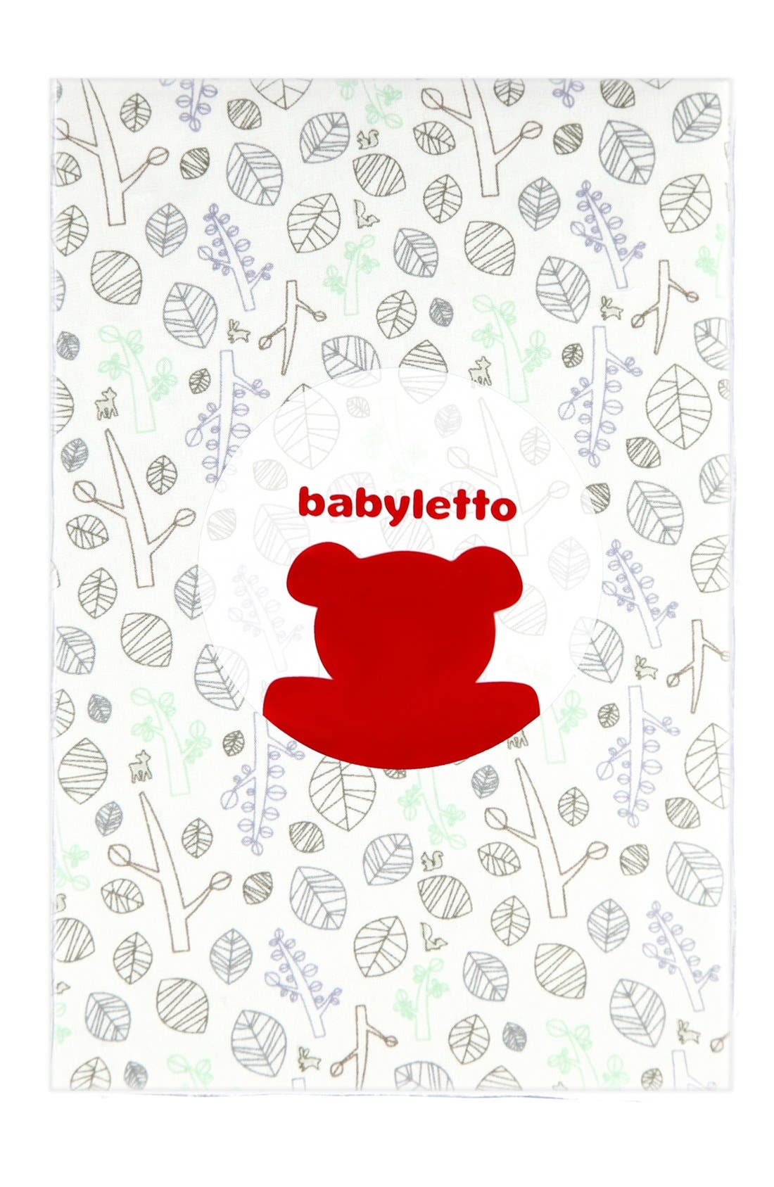 'Woods' Crib Sheet, Crib Skirt, Contour Changing Pad, Play Blanket & Wall Decals,                             Alternate thumbnail 6, color,                             Green