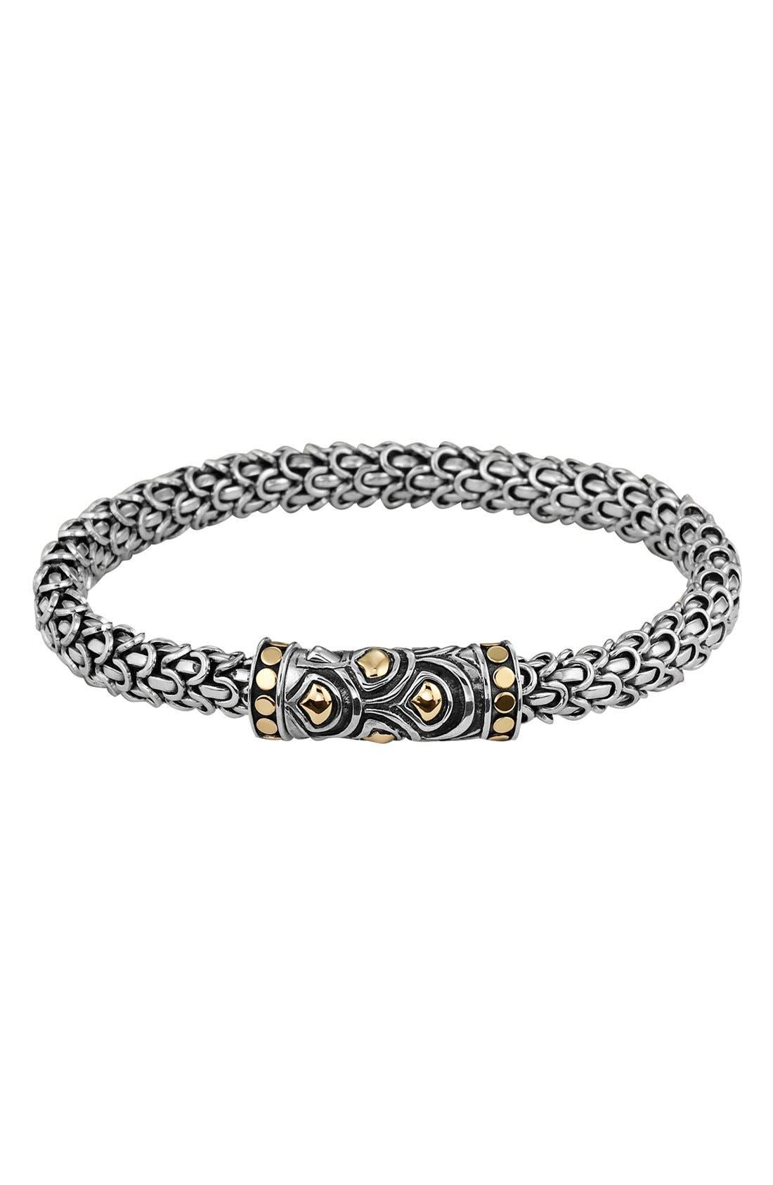 'Naga' Bracelet,                         Main,                         color, Silver/ Gold