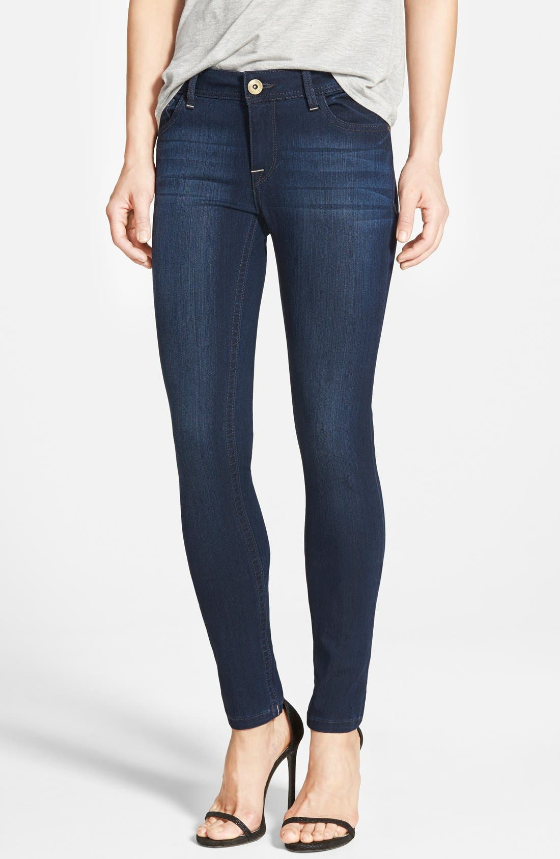 Alternate Image 1 Selected - DL1961 'Amanda' Skinny Jeans (Moscow)