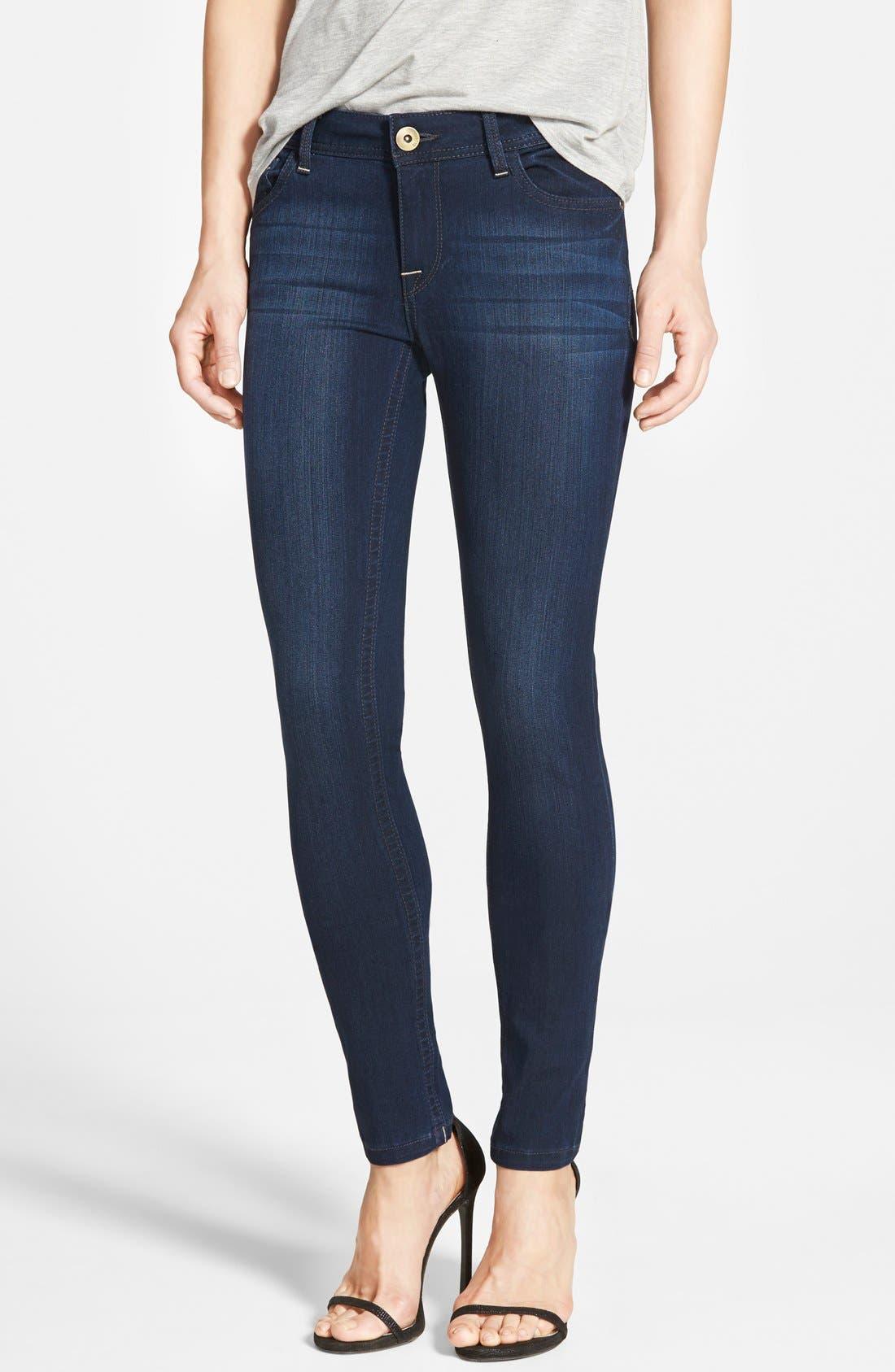 Main Image - DL1961 'Amanda' Skinny Jeans (Moscow)
