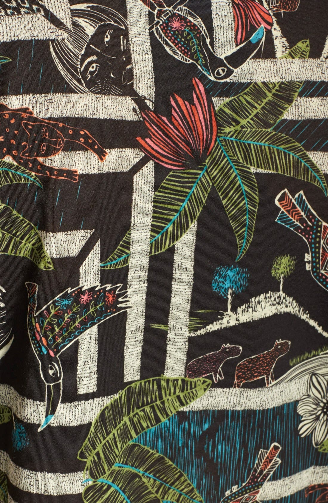 Alternate Image 3  - adidas 'Xilofloresta' Logo Print Jersey Tee