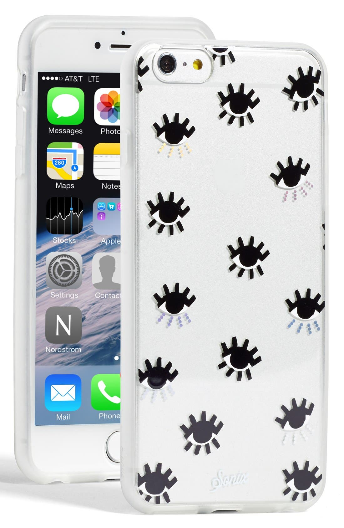 sonix iphone case sonix clear evil eye iphone 6 plus nordstrom 13004