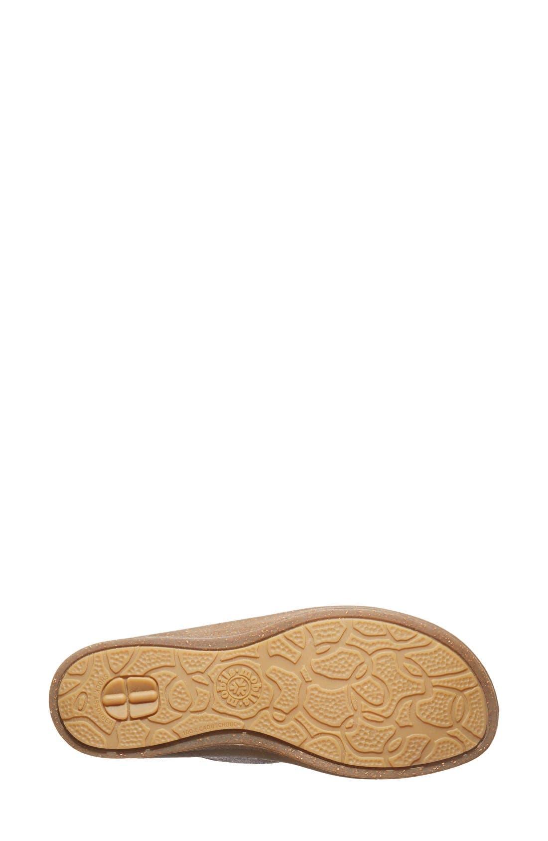 Alternate Image 4  - Mephisto 'Bregalia' Metallic Leather Sandal (Women)