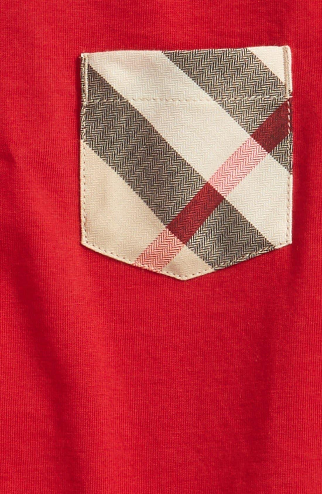 Alternate Image 2  - Burberry Contrast Pocket T-Shirt (Little Boys & Big Boys)
