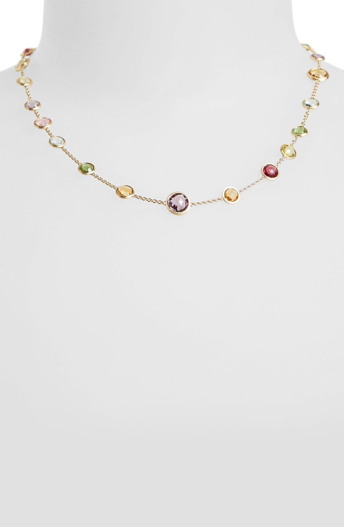 Alternate Image 1 Selected - Marco Bicego 'Mini Jaipur' Station Necklace