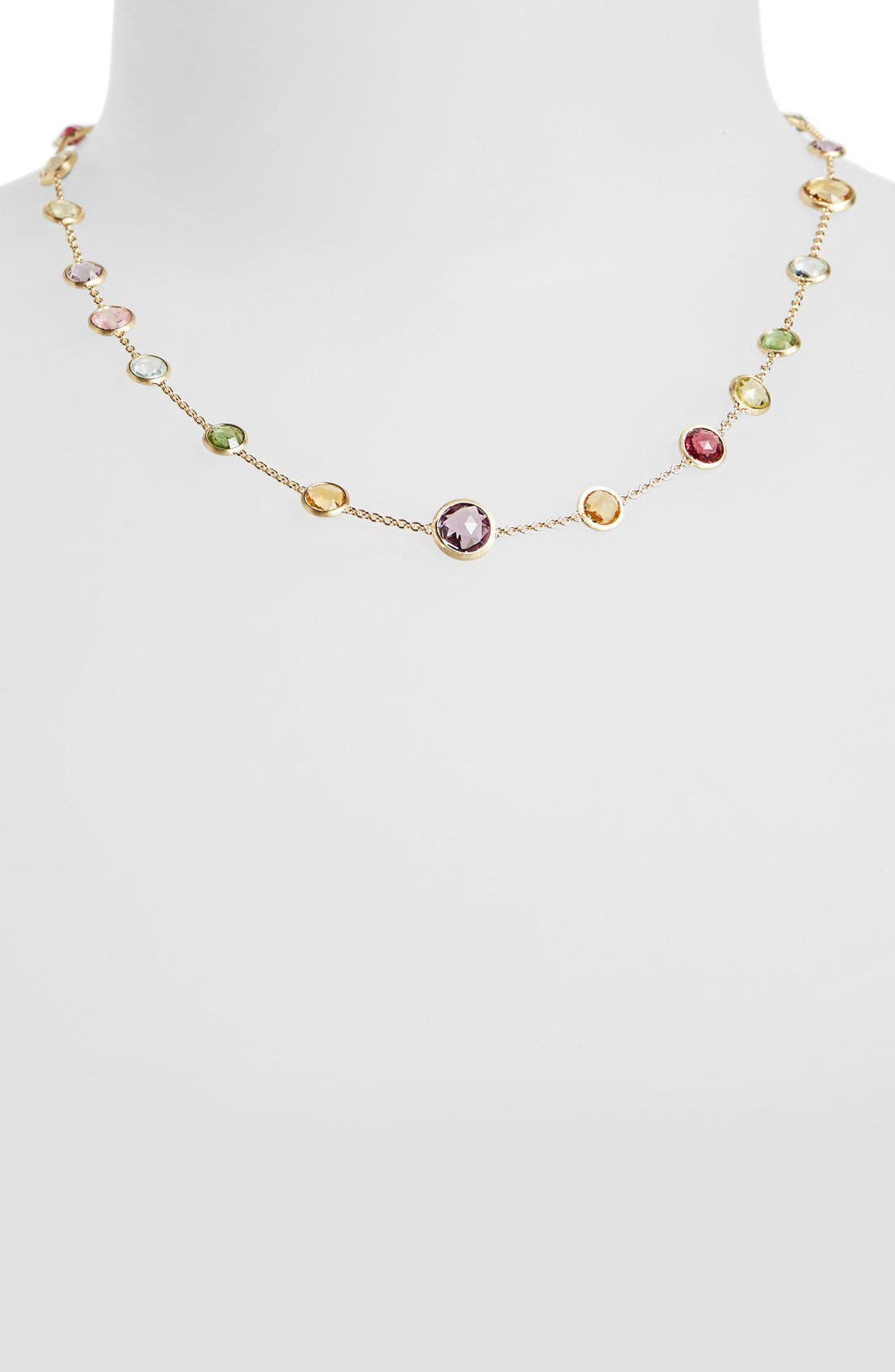 'Mini Jaipur' Station Necklace,                         Main,                         color, Multi