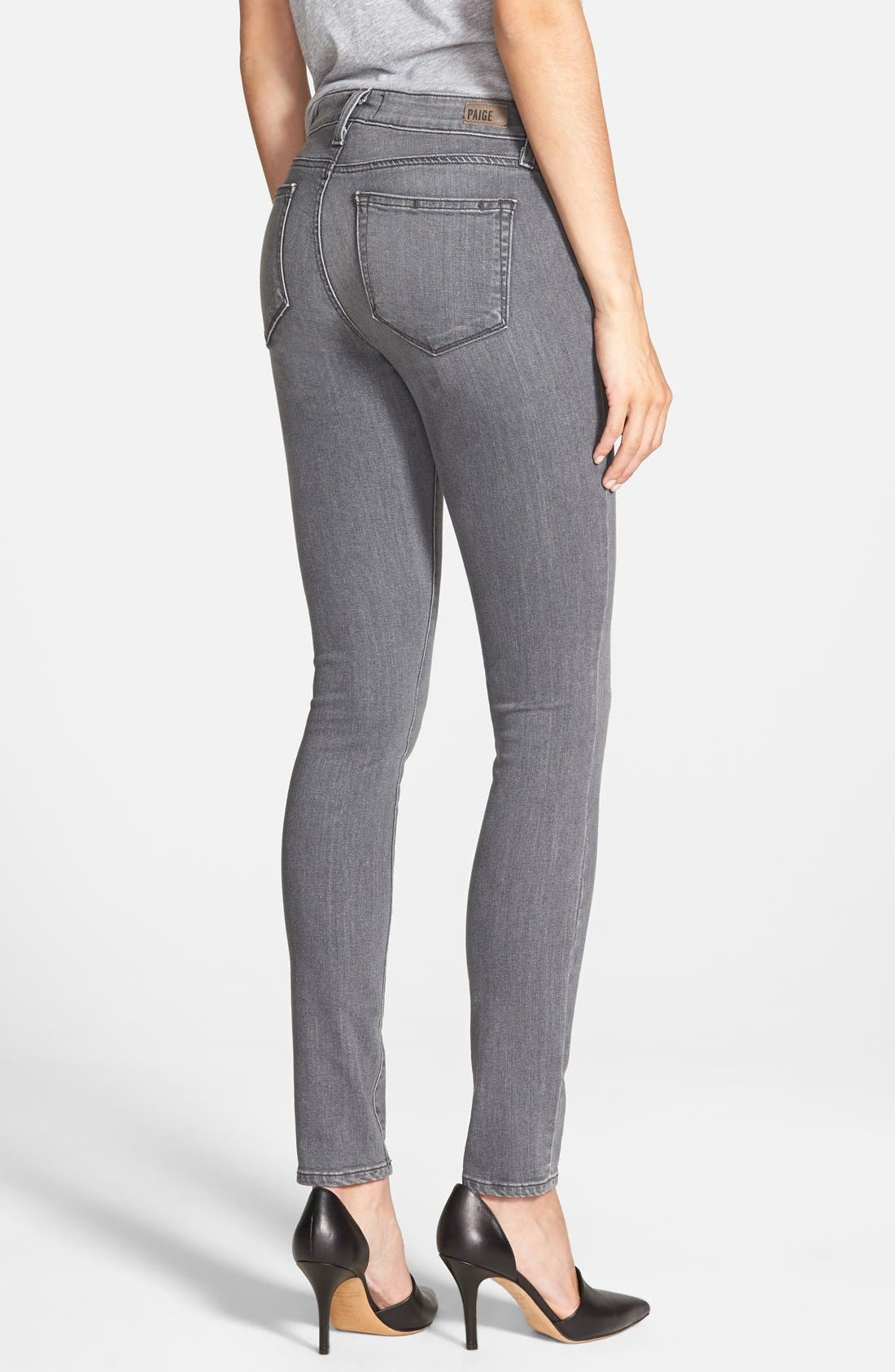 Alternate Image 2  - PAIGE Transcend - Verdugo Ultra Skinny Jeans (Silvie)