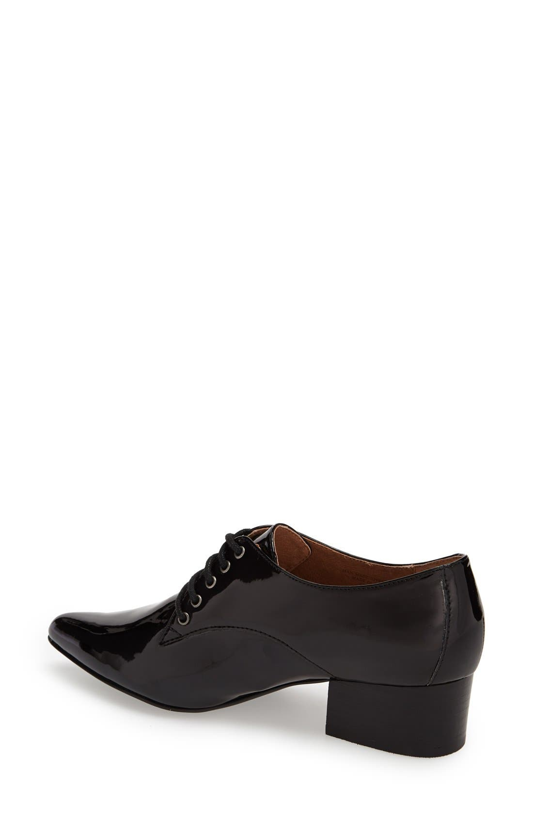 Alternate Image 2  - Bettye by Bettye Muller 'Quart' Pointy Toe Oxford (Women)