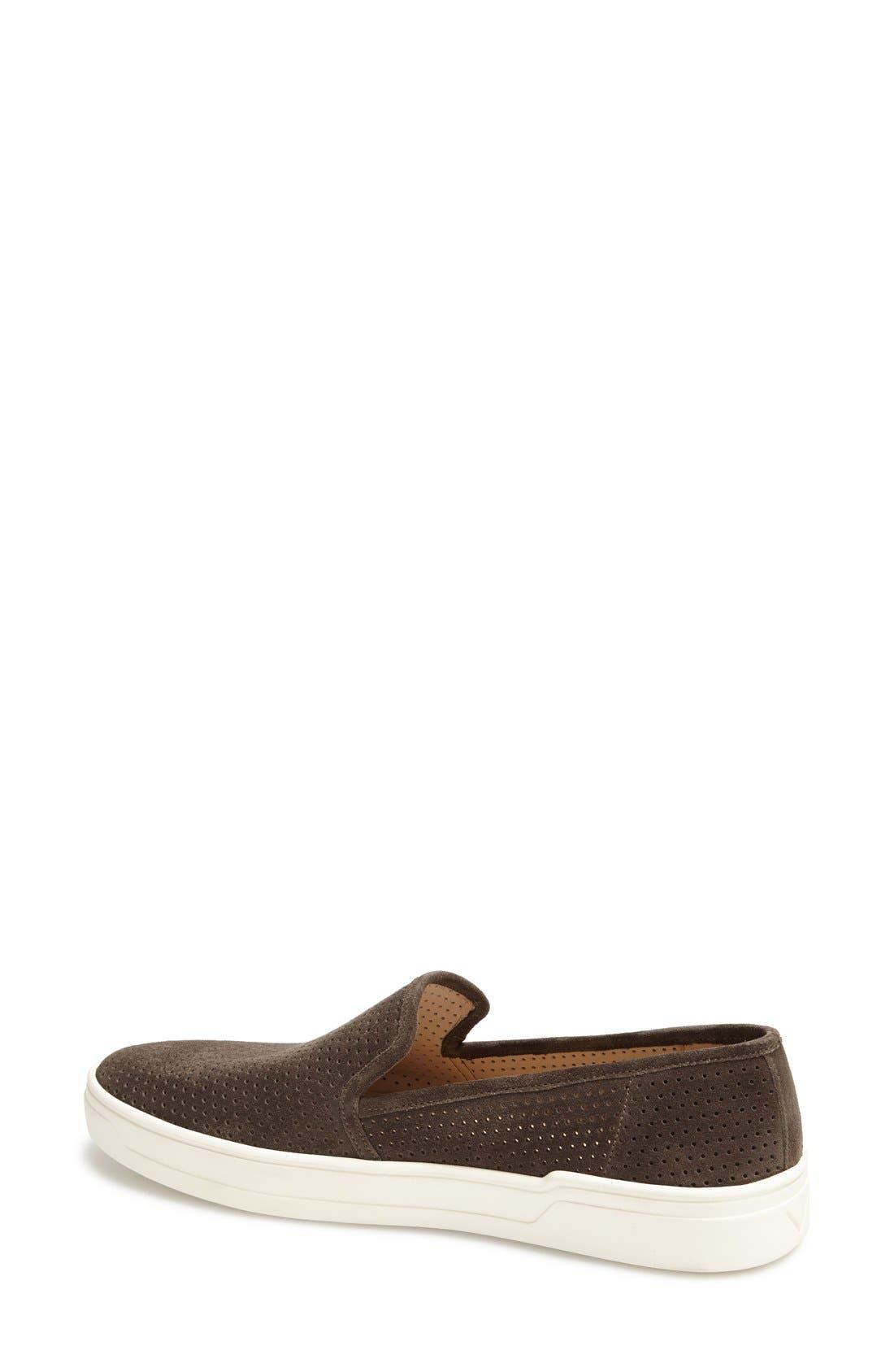 Alternate Image 4  - Via Spiga 'Galea' Leather Slip-On Sneaker (Women)