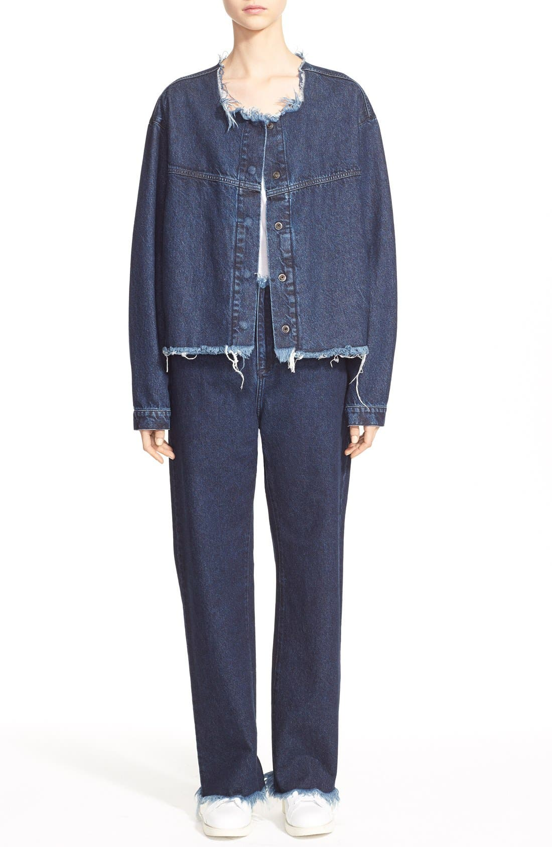 Alternate Image 7  - Marques'Almeida Relaxed Boyfriend Jeans