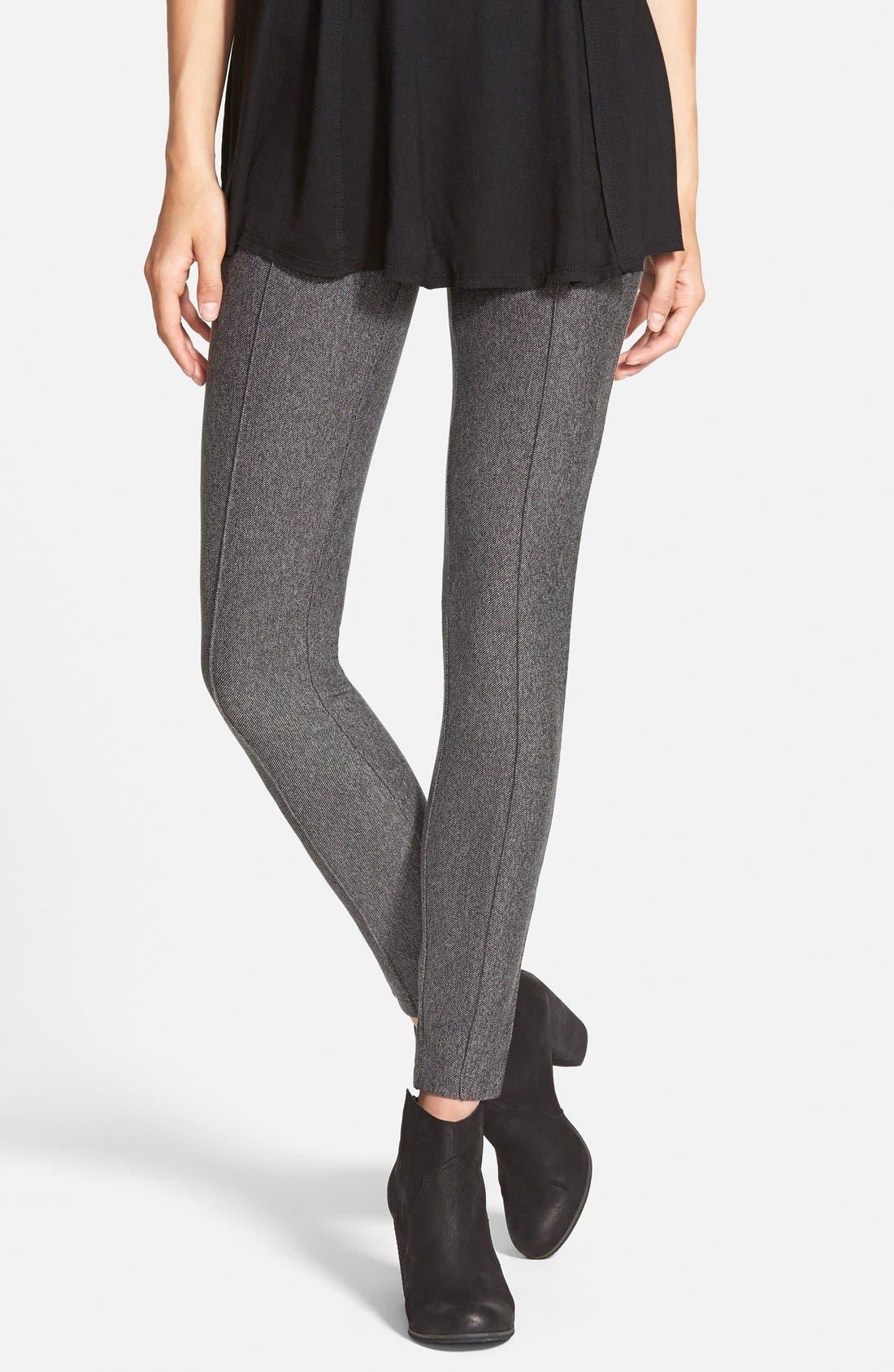 Alternate Image 1 Selected - Hue Tweed Leggings