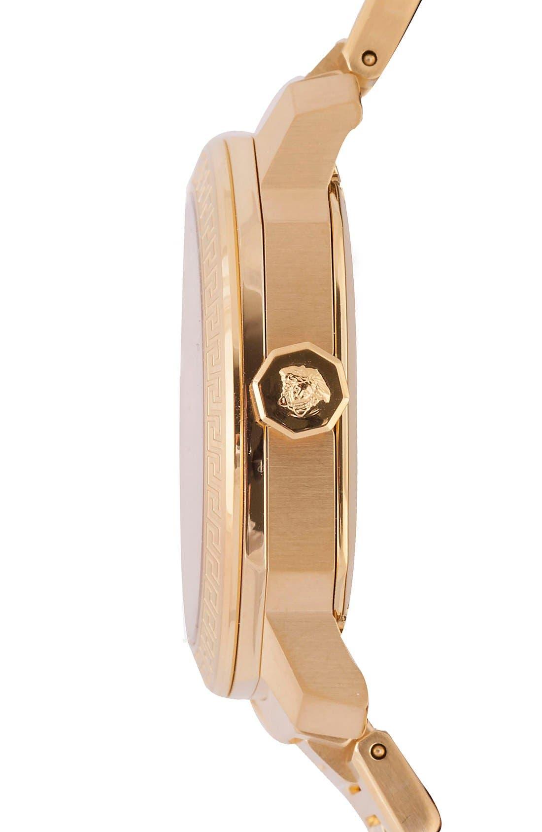 Alternate Image 3  - Versace 'Dylos' Bracelet Watch, 35mm