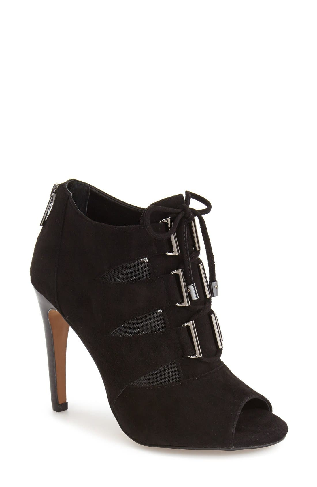 Main Image - Isolà 'Brinly' Peep-Toe Bootie (Women)