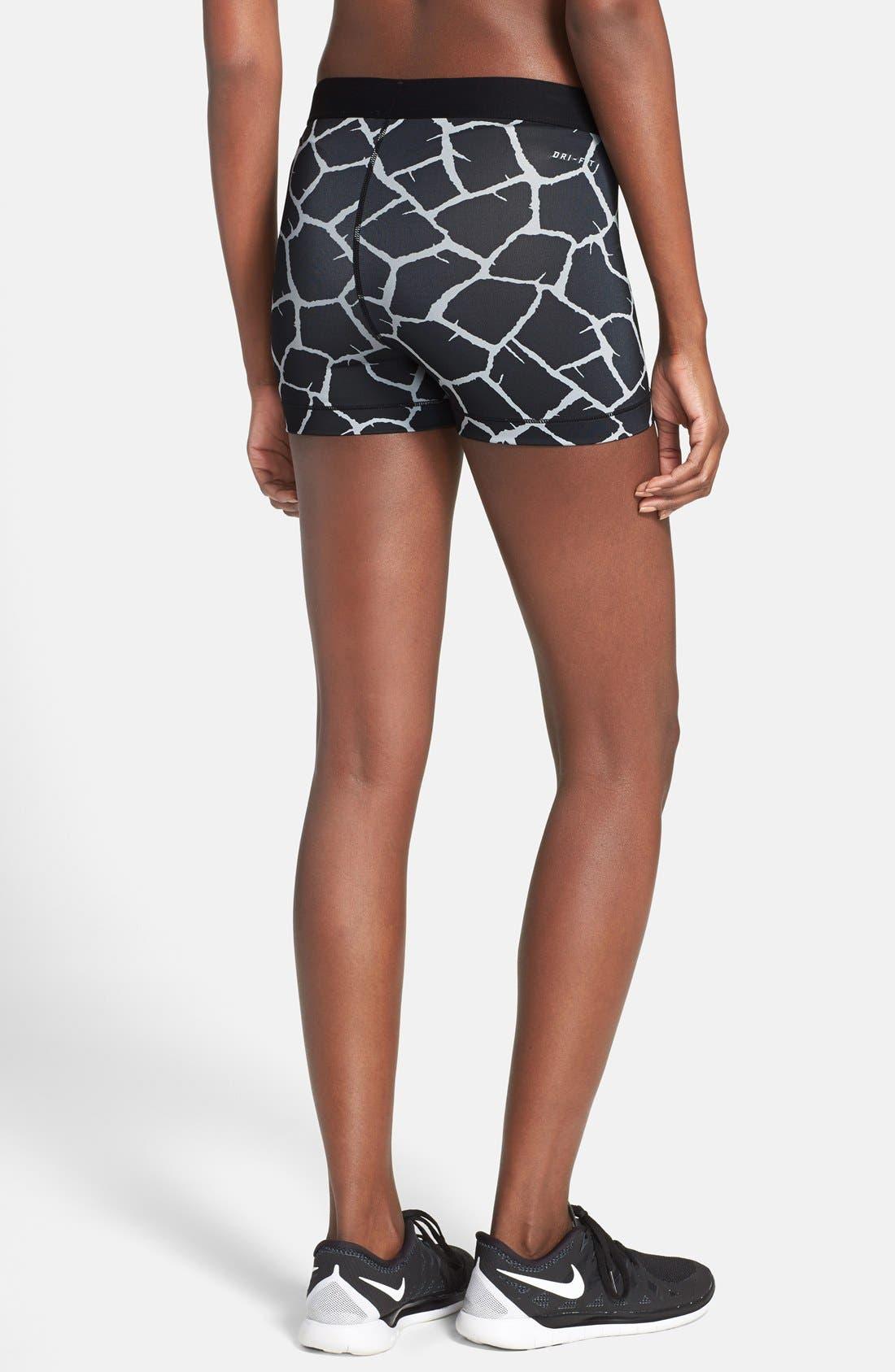 Alternate Image 2  - Nike 'Pro - Giraffe' Dri-FIT Shorts