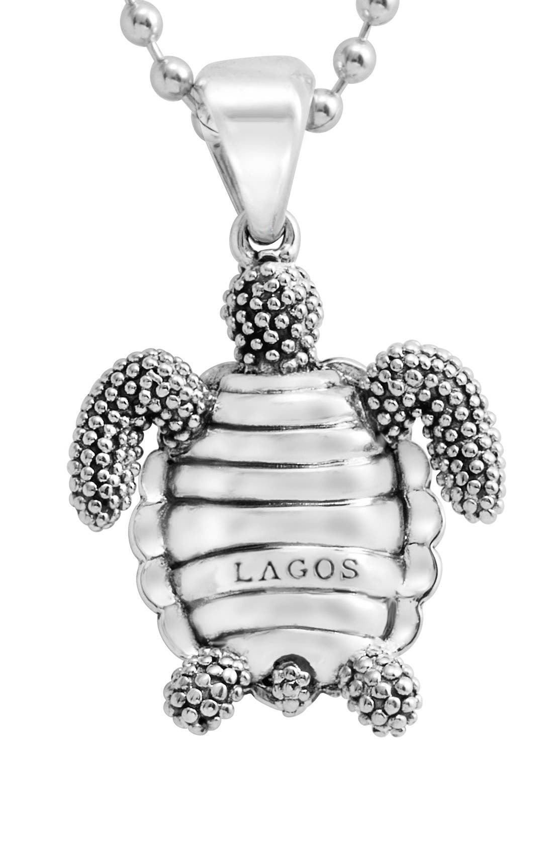 Alternate Image 3  - LAGOS 'Rare Wonders - Turtle' Long Talisman Necklace
