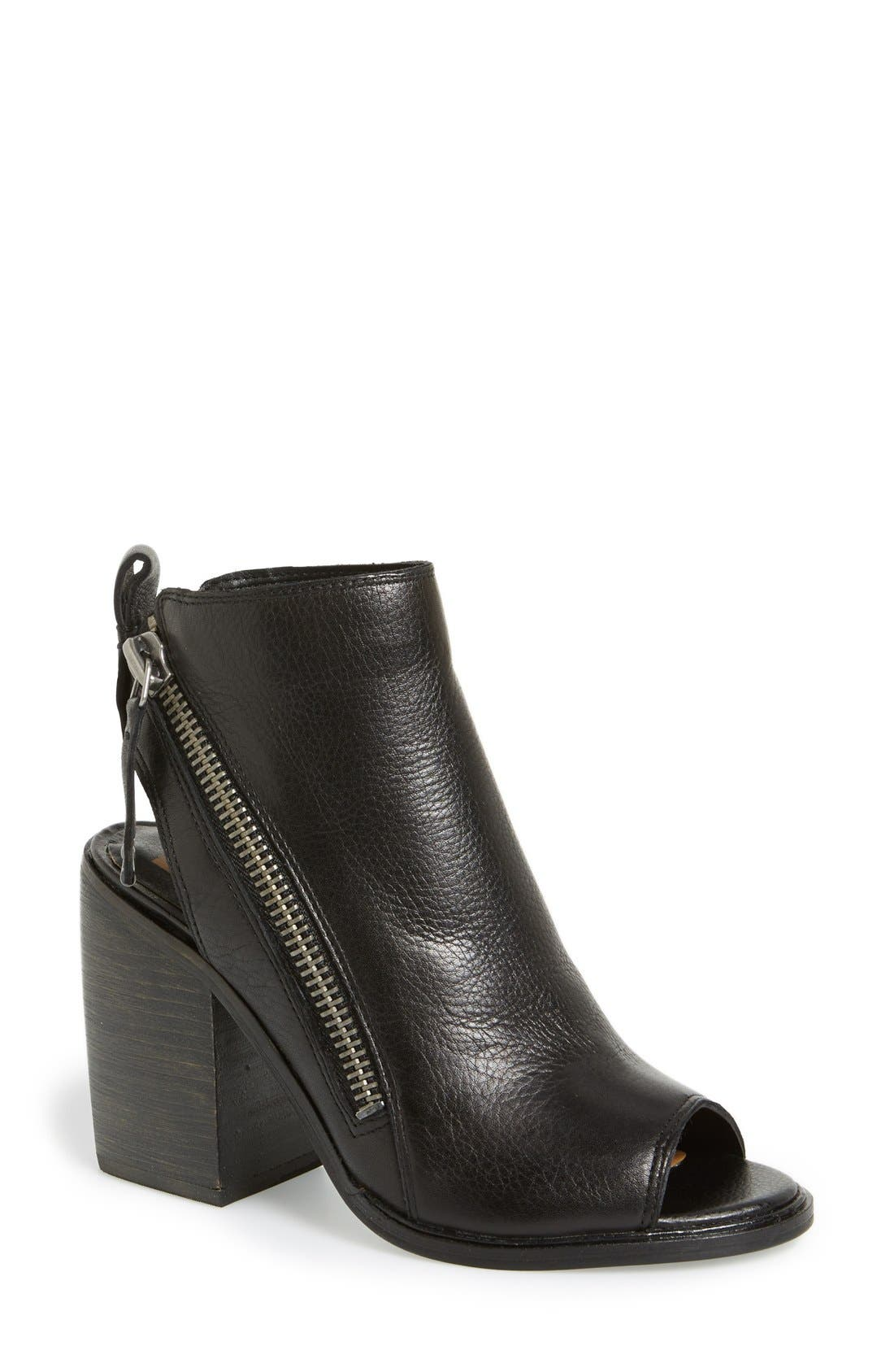 Alternate Image 1 Selected - Dolce Vita 'Port' Open Toe Bootie (Women)