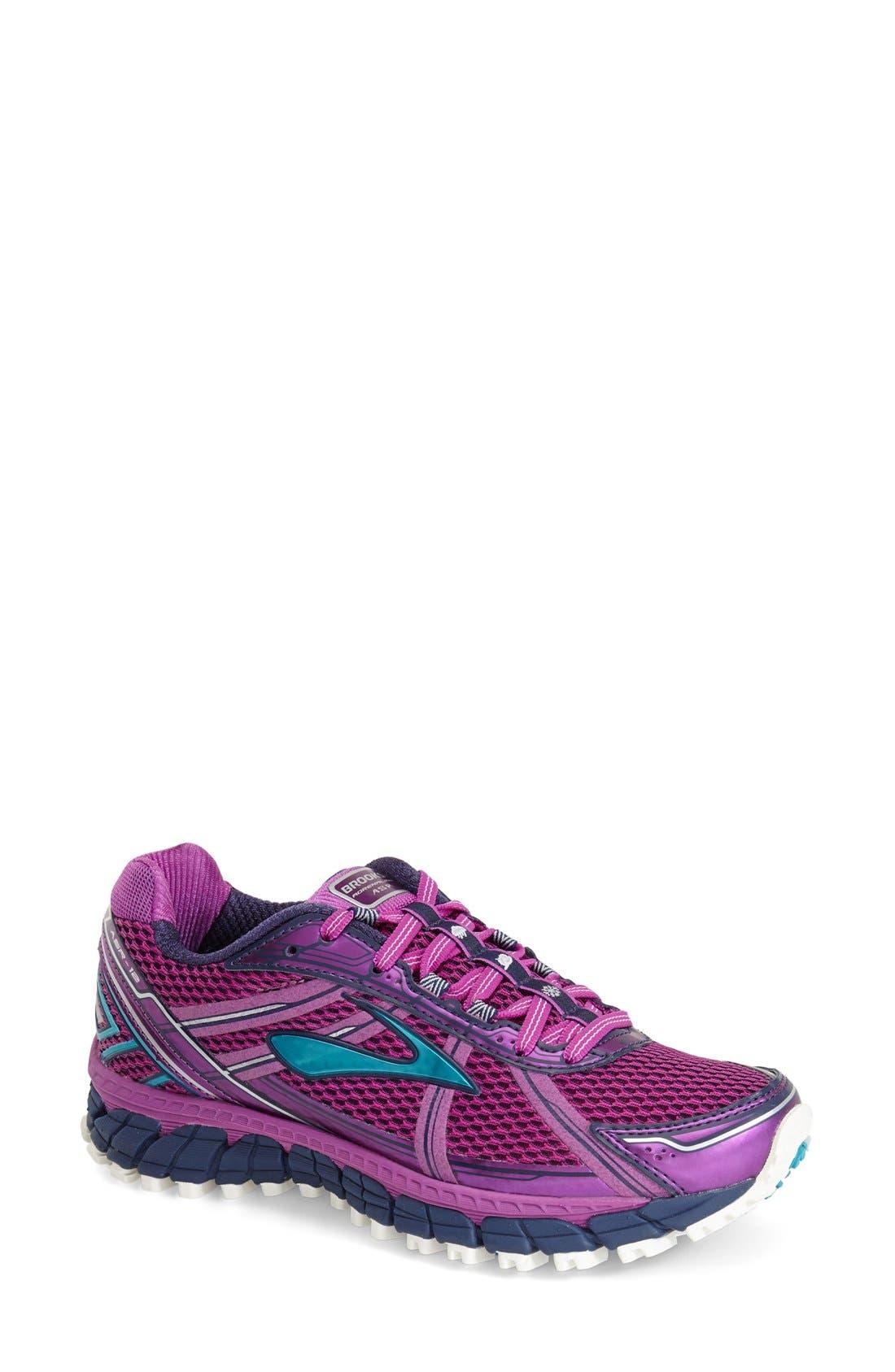 Brooks Adrenaline ASR 12' Water Resistant Running Shoe (Women)