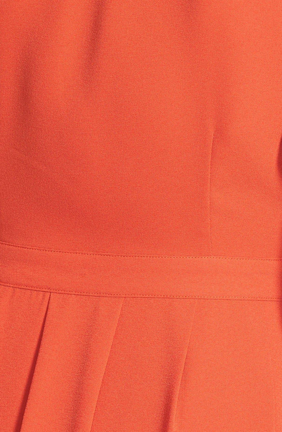 Alternate Image 3  - Storee V-Neck Midi Dress