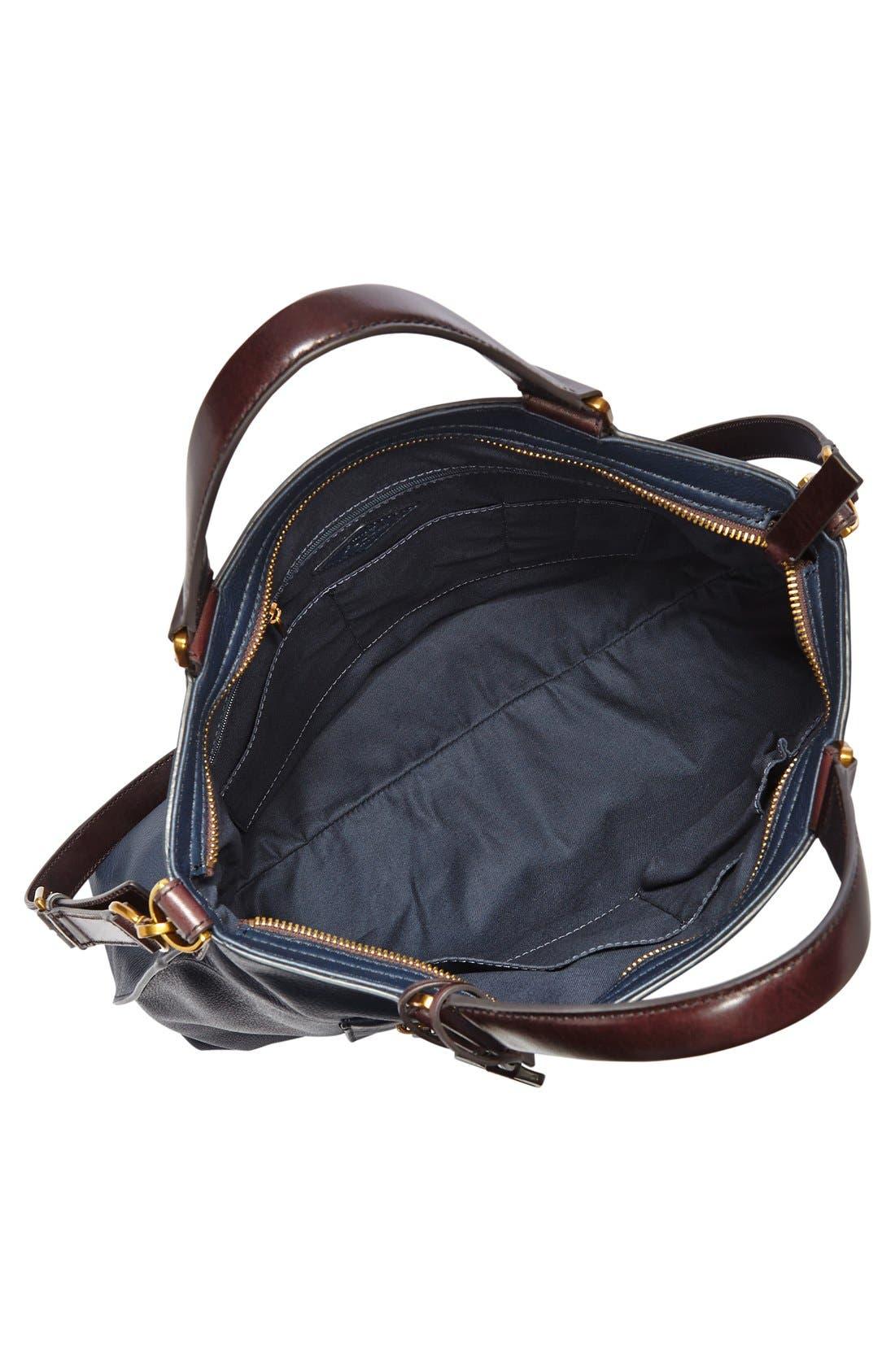 Alternate Image 3  - Fossil 'Vickery' Leather Crossbody Bag