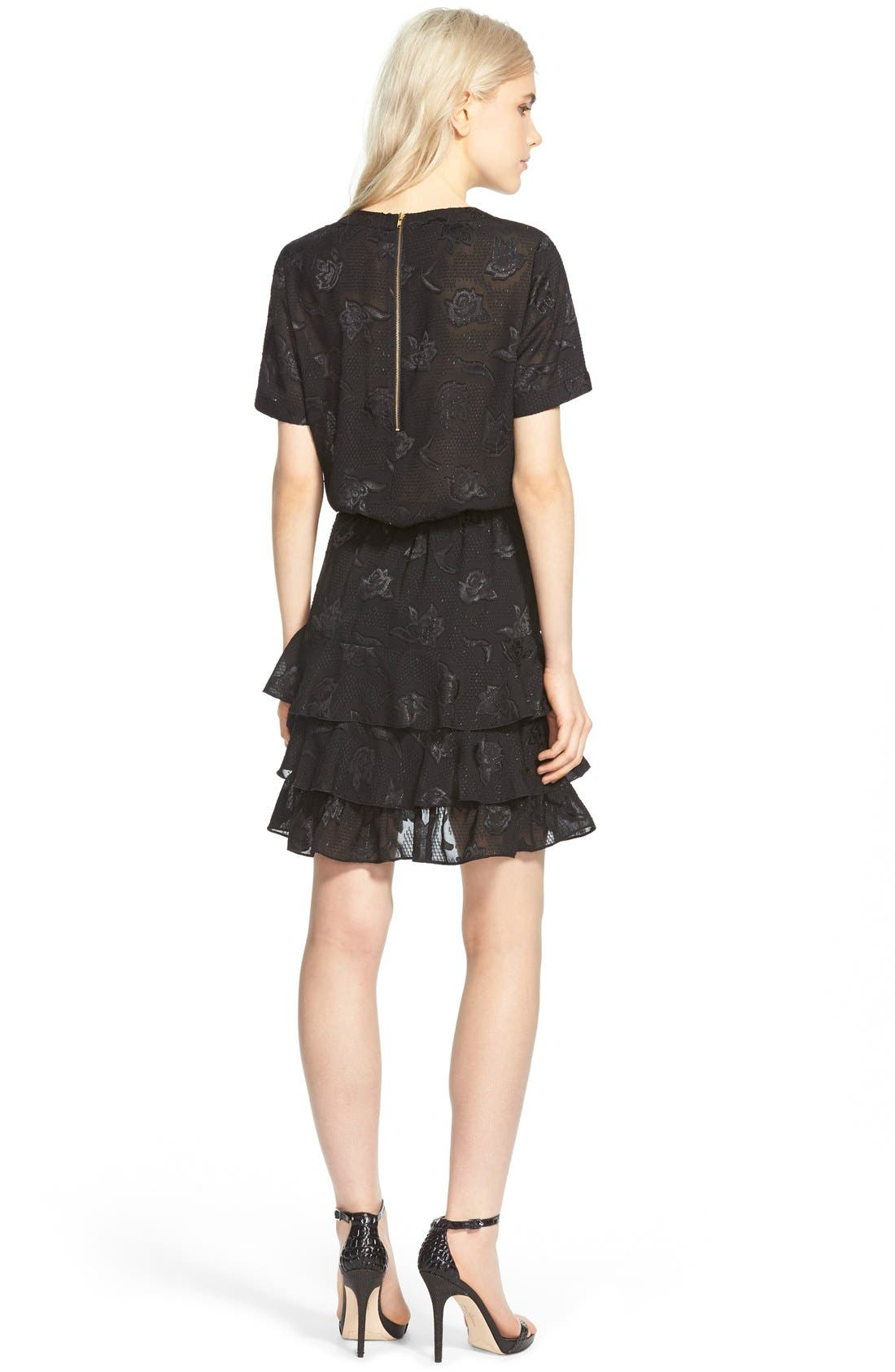 Alternate Image 2  - cooper & ella 'Phoebe' Ruffle Blouson Dress