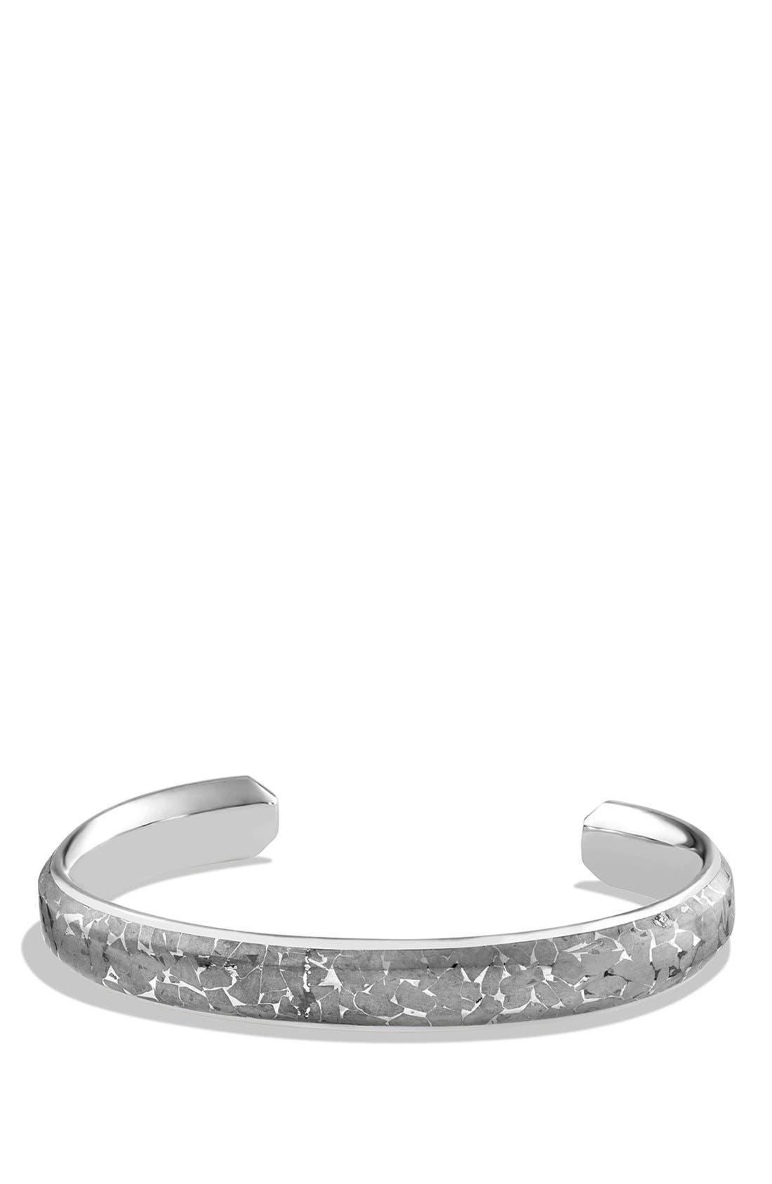 'Meteorite' Fused Cuff Bracelet,                         Main,                         color, Meteorite