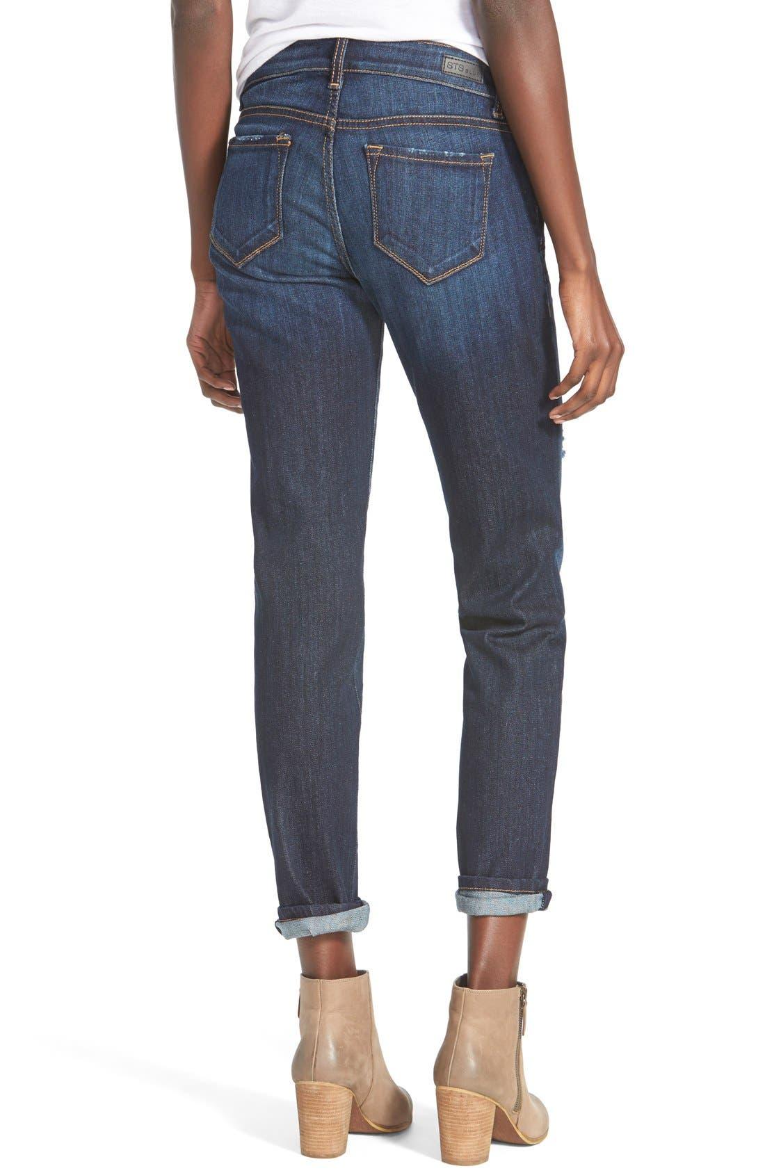 Alternate Image 2  - STS Blue 'Joey' Boyfriend Jeans (Sonoma Wash)
