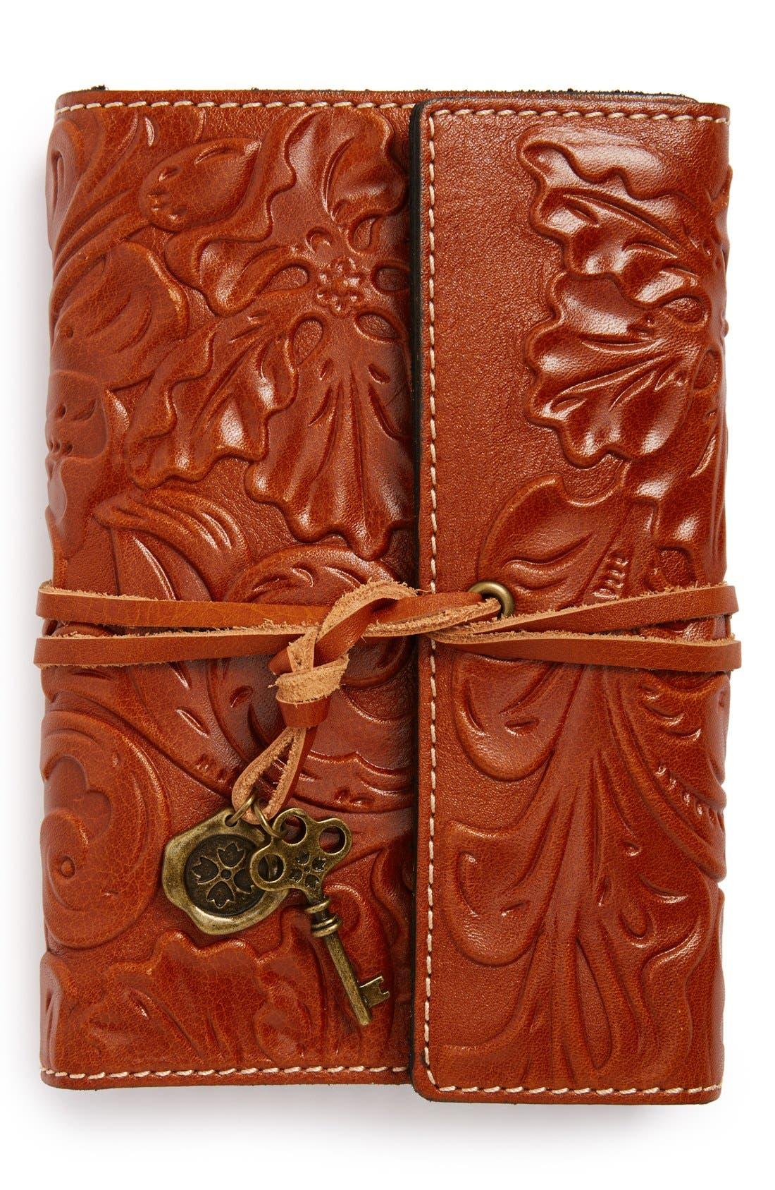 Main Image - Patricia Nash 'Carmona' Leather Journal