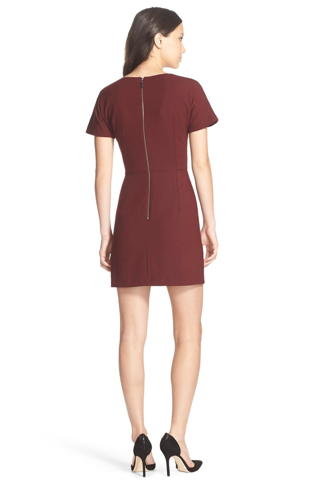 Alternate Image 2  - French Connection 'Whisper Ruth' Jersey A-Line Dress