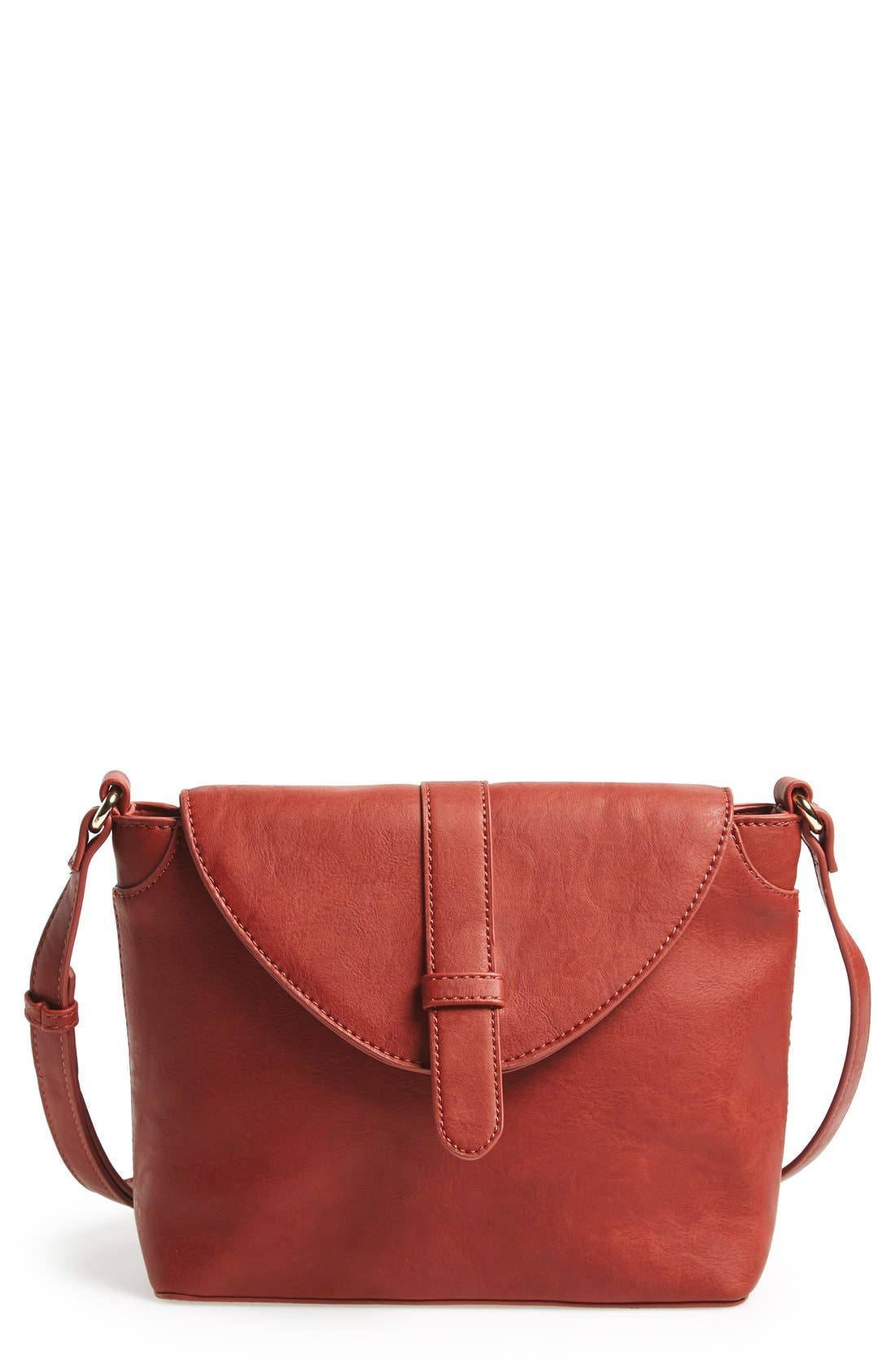 Alternate Image 1 Selected - Sole Society 'Brady' Faux Leather Crossbody Bag