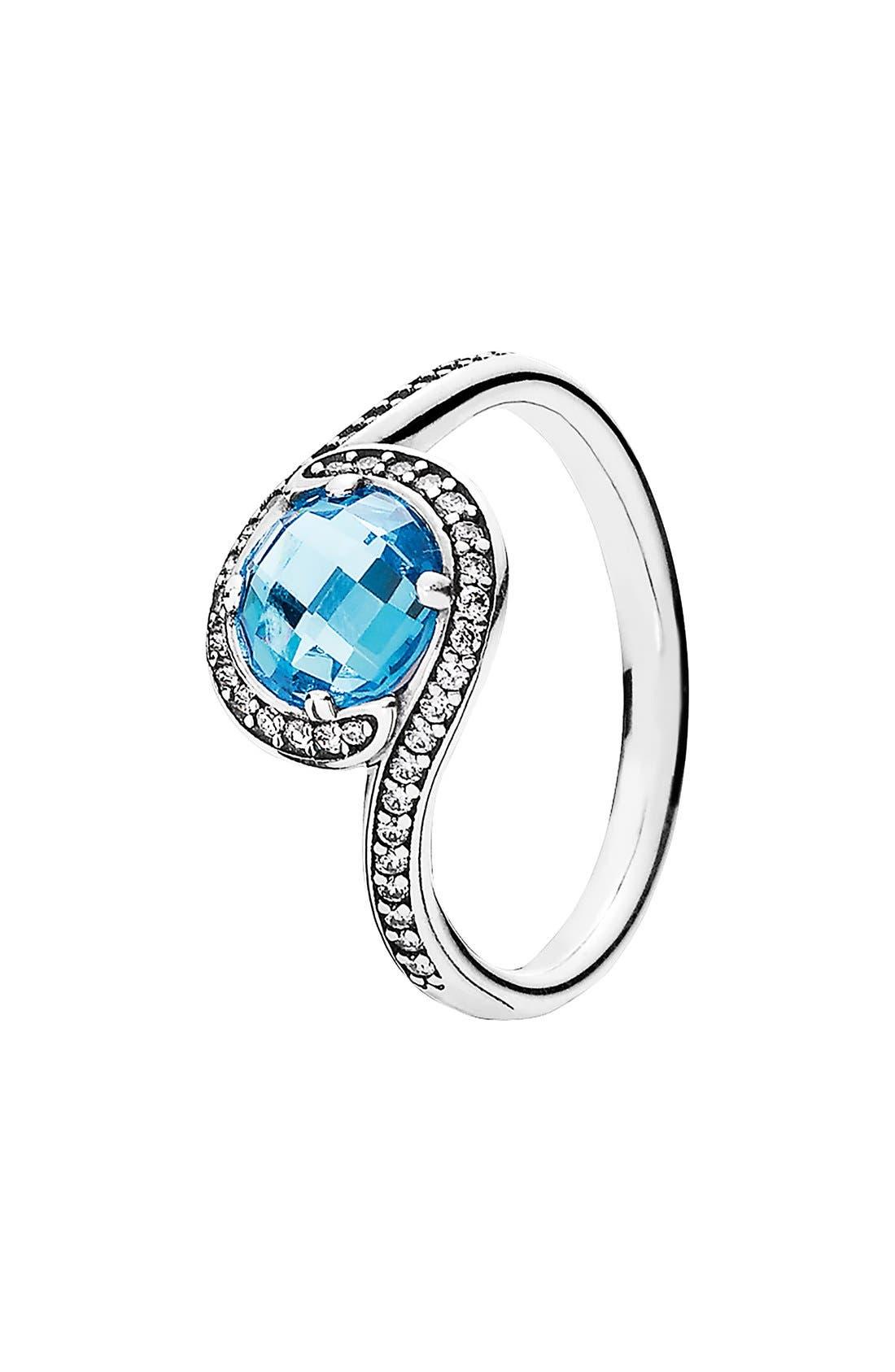 Main Image - PANDORA 'Radiant Embellish' Cubic Zirconia Ring