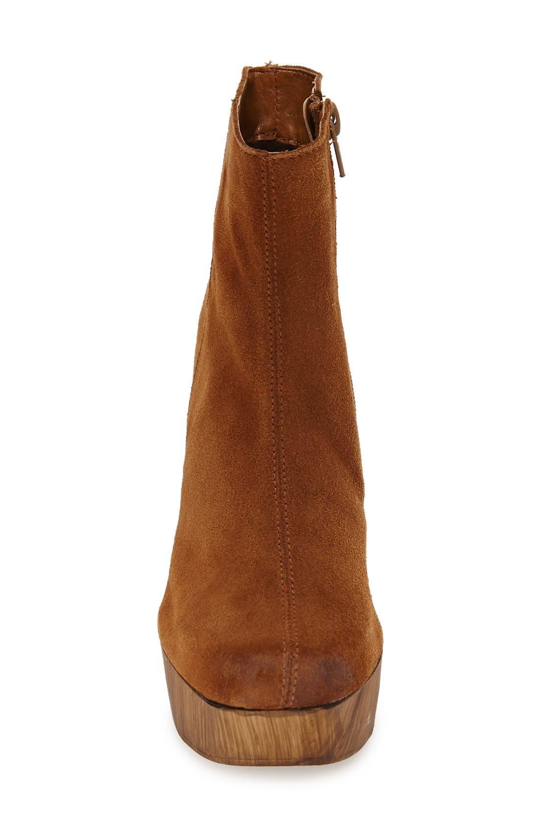Alternate Image 3  - Topshop 'Hitch' Platform Chelsea Boot (Women)