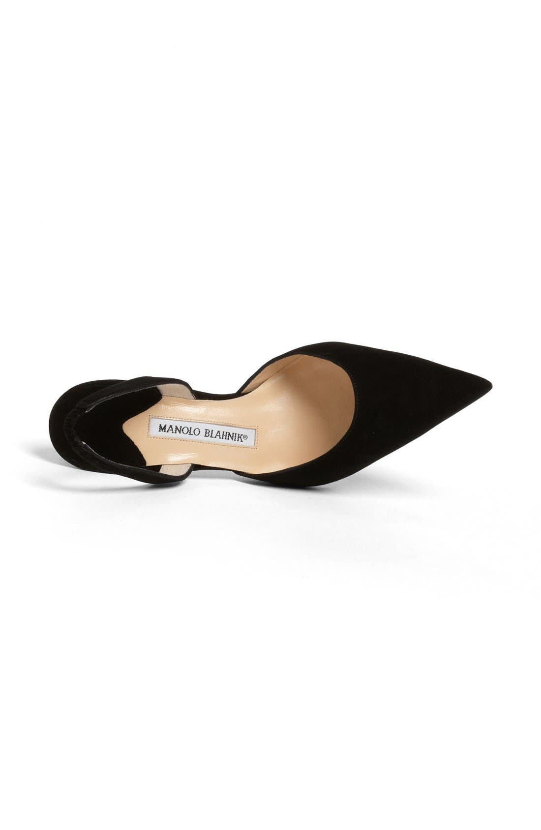 Alternate Image 3  - Manolo Blahnik 'Carolyne' Slingback Pump (Women)