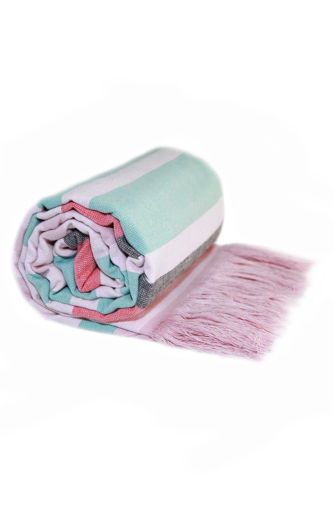 Alternate Image 6  - Linum Home Textiles 'Amalfi' Turkish Pestemal Towel