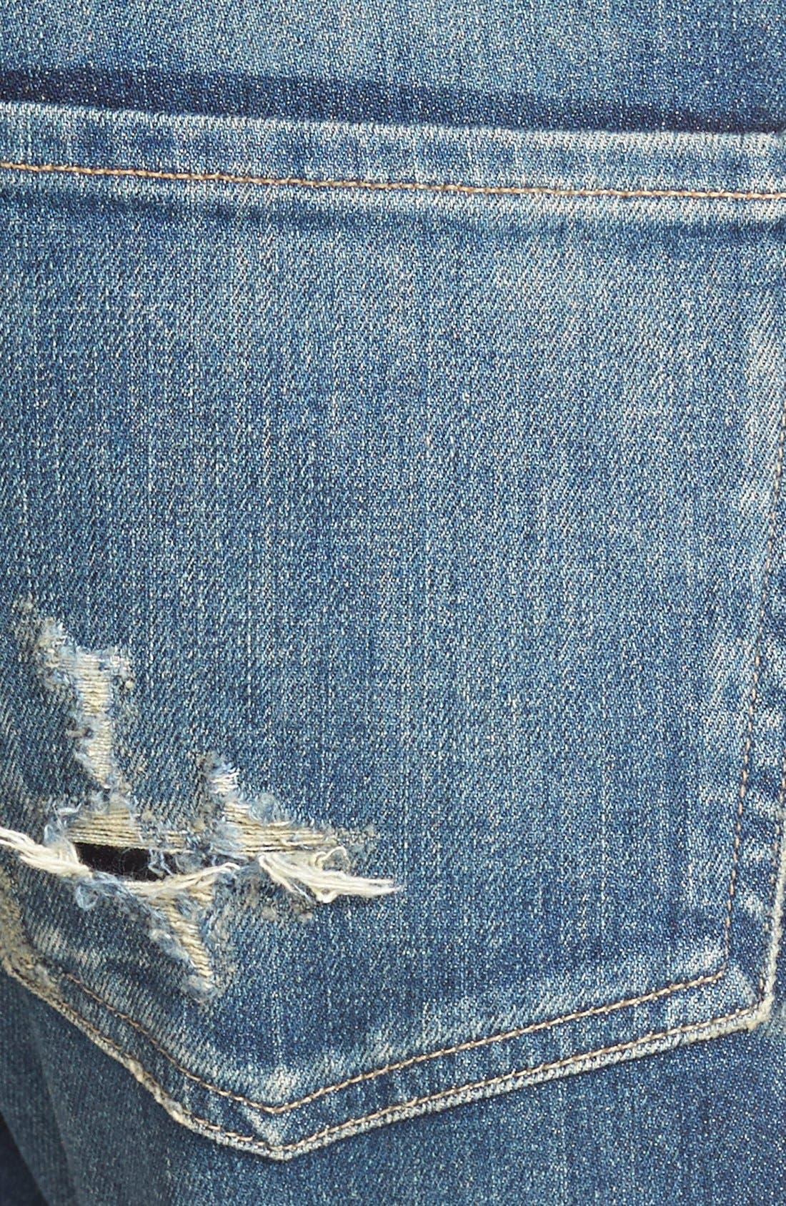 'Corey' Slouchy Slim Jeans,                             Alternate thumbnail 3, color,                             Hayward