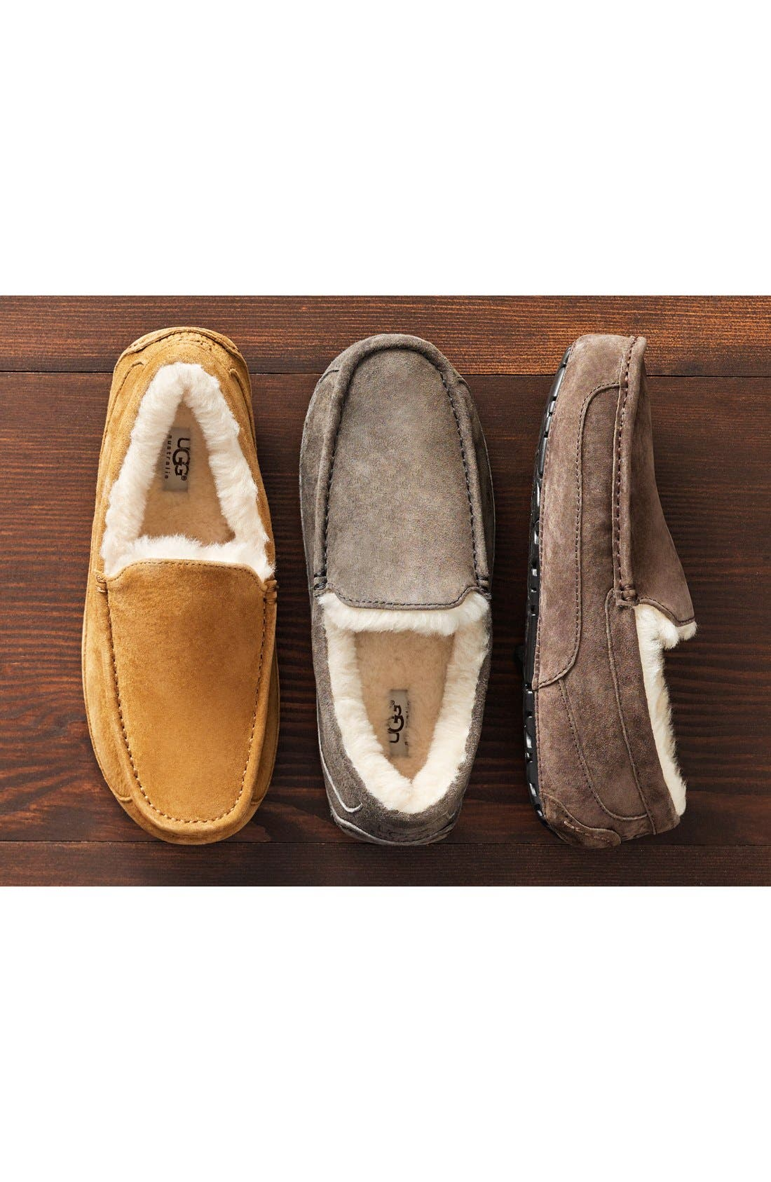 Alternate Image 8  - UGG® Ascot Suede Slipper (Men)