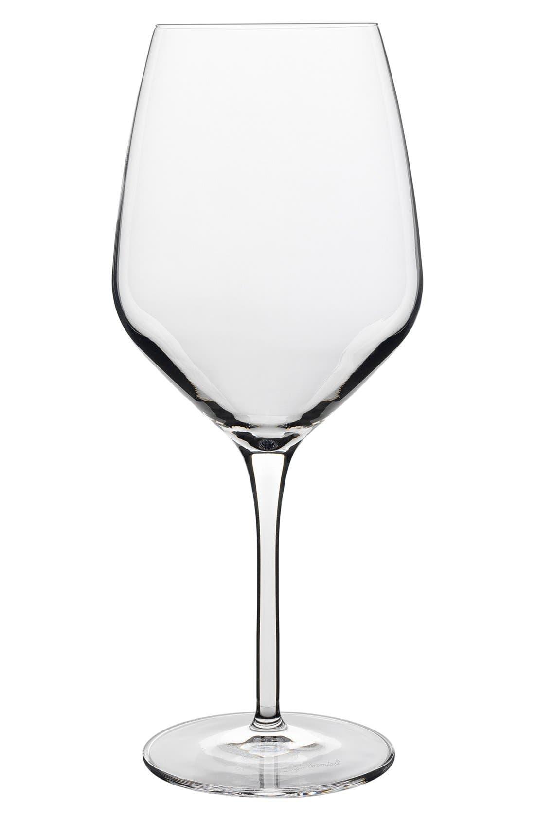 Prestige Set of 4 Wine Glasses,                             Alternate thumbnail 2, color,                             White