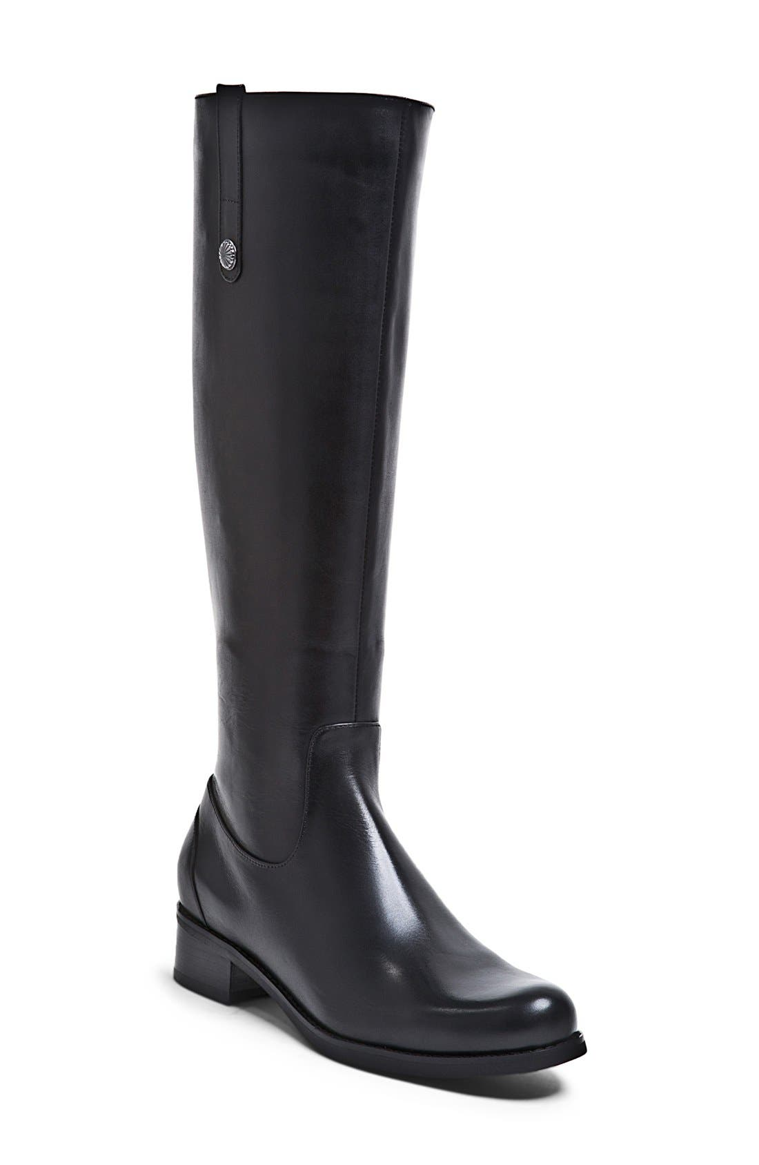 Alternate Image 1 Selected - Blondo 'Victorina' Waterproof Leather Riding Boot (Women)