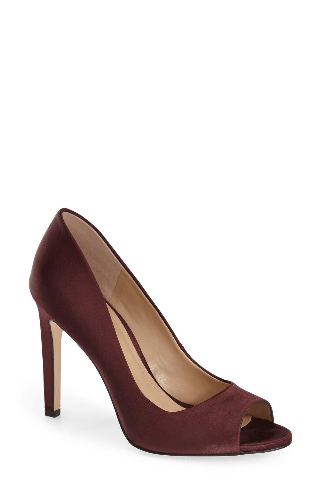Main Image - BCBGeneration 'Chique' Open Toe Pump (Women)
