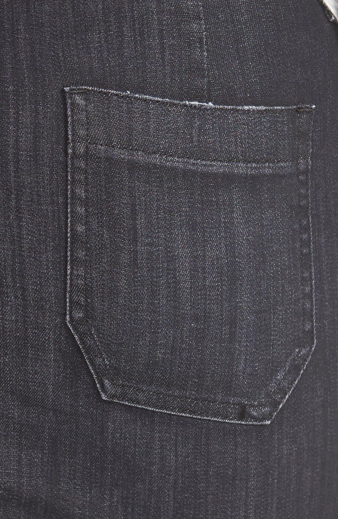 Alternate Image 3  - Hudson Jeans'Rose'High Waist Skirt